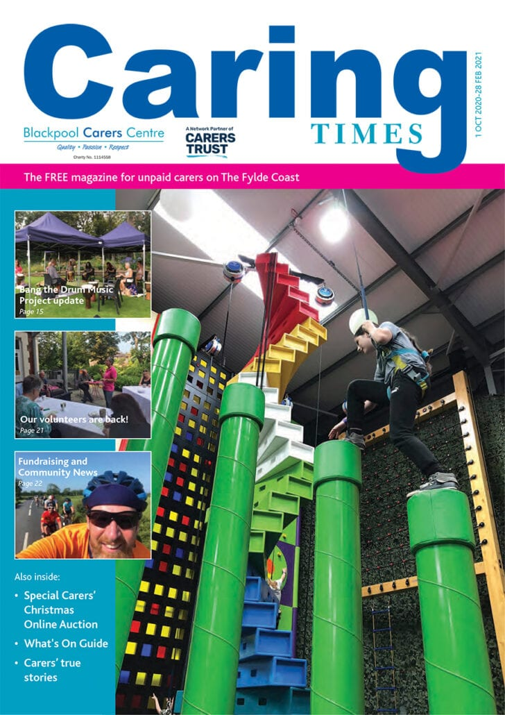 October 2020 issue of Caring Times available now...Download your copy today! 3